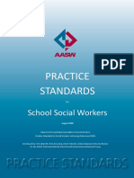 AASW Practice Standards for School Social Workers 2008
