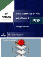 Netapp metro cluster