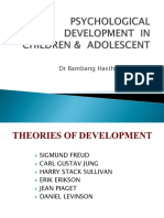 Psychological Development in Children & Adolescent