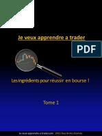 Les Ingredients Pour Reussir en Bourse 2