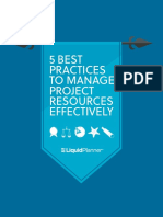 LiquidPlanner Five Best Practices to Manage Project Resources Effectively