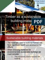 Timberasasustainablebuildingmaterial