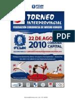Invitacion Torneo 2010