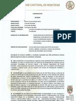 Informe de Coordinación Julio 2010