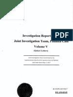 Panama JIT Final Report Vol - V (Qatari Letters)