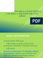 Presentacion de Leche