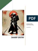 Sharp Entry
