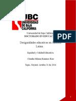 Actividad 2 Equidad Claudia Milena Ramírez Ríos