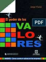 El Poder de Los Valores-Unisabana - Jorge Yarce