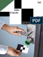 Contrôle Daccès Commercial Brochure 053914-1211 FR