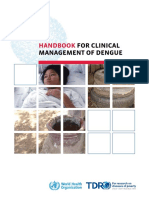 Handbook for Clinical Management of Dengue
