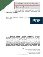 AÇÃO DE AUXÍLIO DOENÇA URBANA.doc