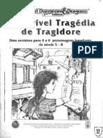 AD&D - A Terrível Tragédia de Tragidore (Aventura) - Biblioteca Élfica