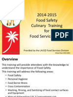 HACCP and Food Safety 2015