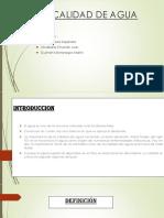 CALIDAD DE AGUA PPT.pptx