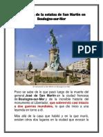Estatua de San Martin-boulogne