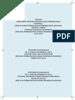 Pedoman RPJMN 2015 2019 Cetak