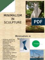 Minimalism in Sculpture