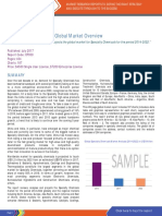 Specialty Chemicals - A Global Market Overview