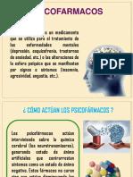 Psicofarmacos y Psicoterapia