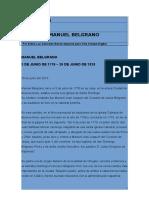 Belgrano Biografia