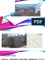 Final Empresa Maderas Oxapampa Sac