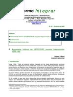Antecedente Histórico Del MERCOSUR Proyecto Integracionista 1958-1962 - Susana J. Biasi