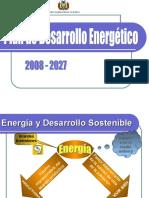 Plan de Desarrollo Energetico07-27
