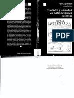 Schell Hoberman Louisa Y Midgen Socolow Susan - Ciudades Y Sociedad En Latinoamerica Colonial (Scan).pdf