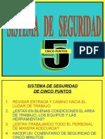 5 Puntos de seguridad