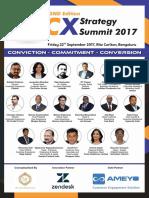 2nd Edition CX Strategy Summit 2017