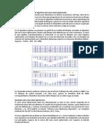 Descripción Conceptual Del Algoritmo Del Cono Móvil Optimizante