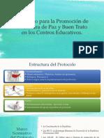 PPT Protocolo Para La Promoción de La Cultura de Paz y Buen Brato