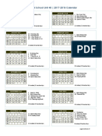approved rsu 40 calendar 17-18