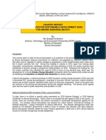 Country Report on ESD for Brunei Darussalam 2012 (Final)