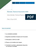 Brender Pisani Gagna Monnaie Finance Economie Reelle 2015-06-25
