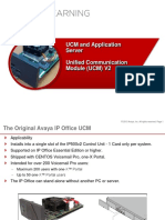 IP Office -Chapter 09 UCM and Application Server