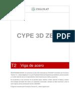 PARTE 2:vigaDeAcero CYPE 3D