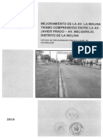 Mejoramiento Av. La Molina