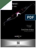 Eclipse Glasses Instructions