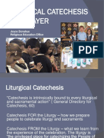 Liturgical Prayer and Catechesis for Catholic School Teachers