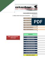Calculadora Aguinaldo 2015