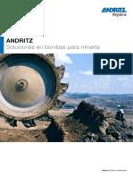 Bombas Andritz Sumergibles Para Mineria