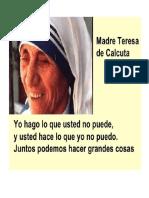 Mensaje Madre Teresa de Calcuta 4