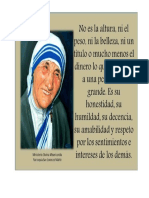 Mensaje Madre Teresa de Calcuta 5