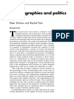 The Geographies and Politics of Fear
