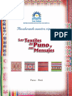 2009 Los Textiles de Puno y Sus Mensajes
