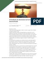 A Parábola Da Demissão Da Formiga Desmotivada _ Maria Gabriela C