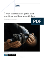 7 Ways Contaminants Get in Machines