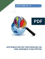 Distribucion de Frecuencias de Una Variable Cualitativa